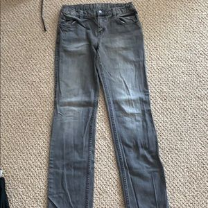 Tucker & Tate faded gray jeans 20 Slim Straight